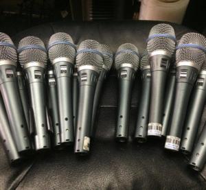 Shure Microphone Rental - New York